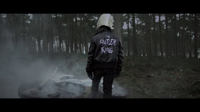 The Antler King | Gold Red Circles