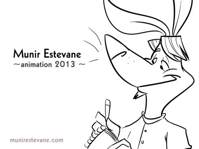 Munir Estevane - Animation Demo Reel 2013