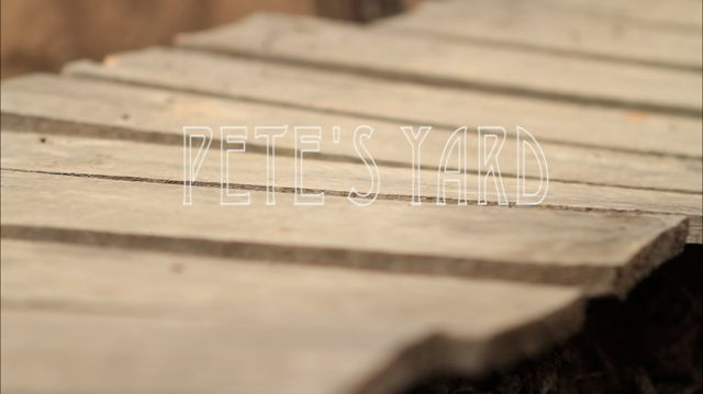 Mountain Bike News - Pete's yard