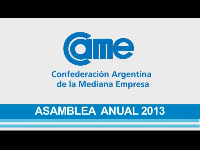 Está online el video de nuestra Asamblea General Ordinaria 2013 ¡Miralo!