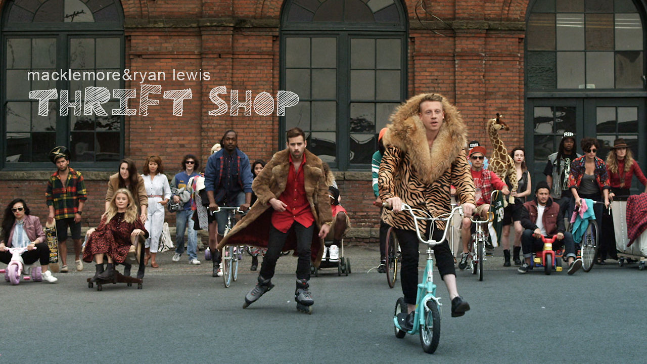 Macklemore ryan lewis thrift shop feat wanz lyrics hq