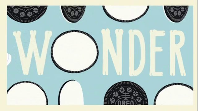 Go to OREO.com to spread the wonder