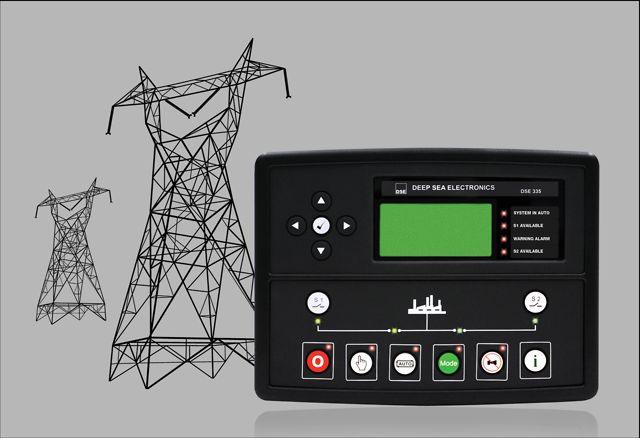 Deep sea electronics dse monitoring ac supply voltage and frequency