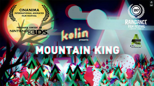 Mountain King - Music video - 3D anaglyph