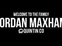Jordan Maxham welcome to Quintin Co