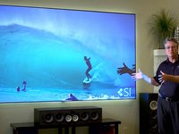 Black Diamond Zero Edge Projection Screen