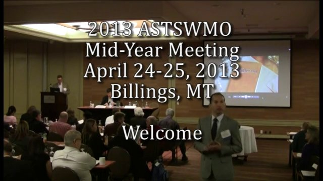 2013 Mid-Year Meeting: Welcome on Vimeo