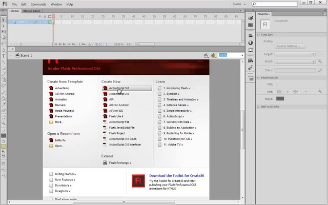 Tutorial Adobe Flash Cs6