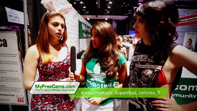MyFreeCams at Exxxotica Expo 2013 Atlantic City, NJ