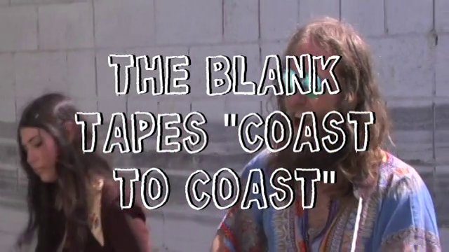 "The Blank Tapes Perform ""Coast To Coast"" on Dirty Laundry TV - Video"