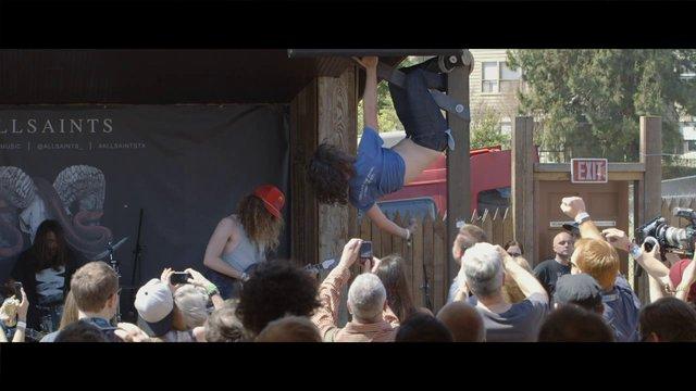 AllSaints Film - New Music City