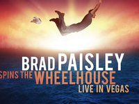 Brad Paisley - Spins the Wheelhouse - Live in Vegas