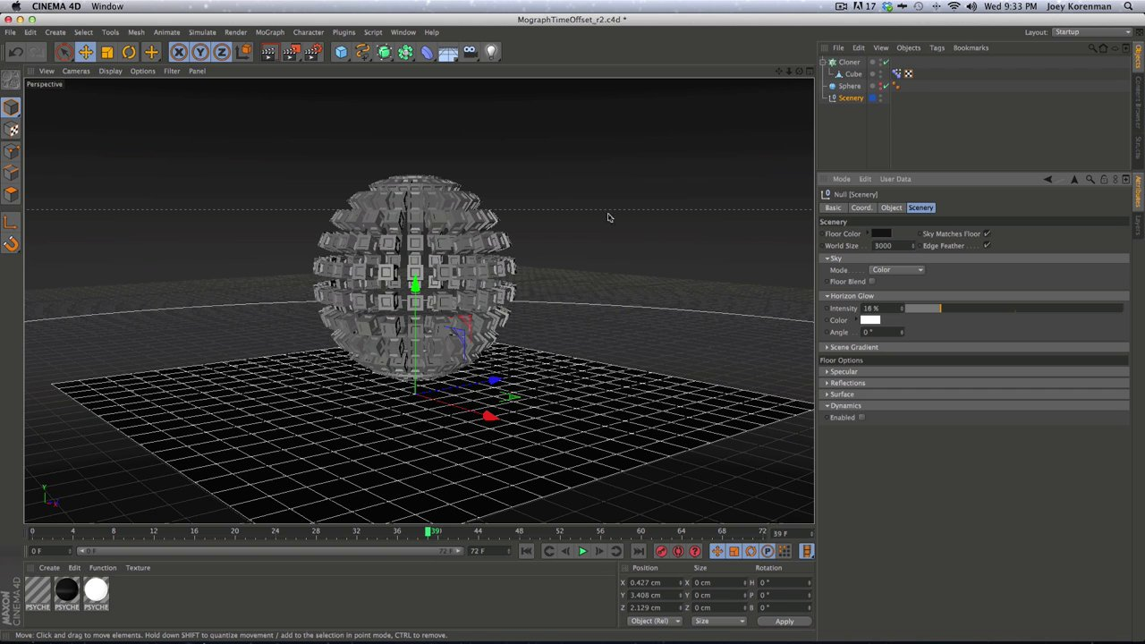 Cinema 4D Tip: Transformer effect with Mograph
