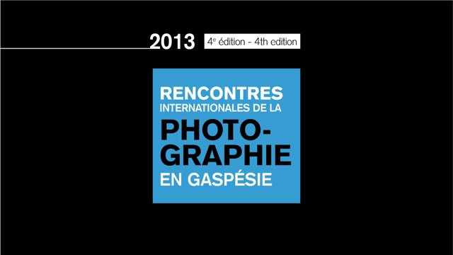 En primeur : Dévoilement de 5 photographes – édition 2013 | A preview: Unveiling of 5 photographers – 2013 edition |