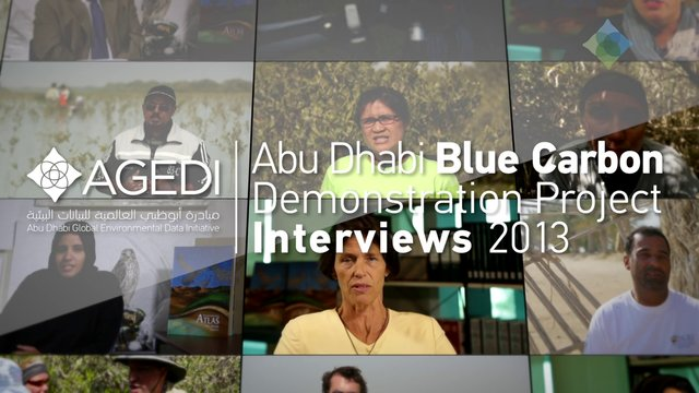 Dr. Frederic Launay talks about The Abu Dhabi Blue Carbon Demonstration Project
