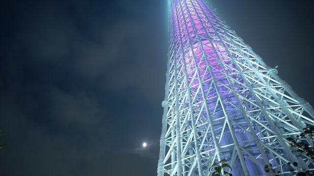 Tokyo SKYTREE 1st anniversary lighting