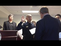 Ledda sworn in as new Laurens Chief of Police