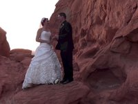 Valley of Fire State Park Wedding at Seven Sisters