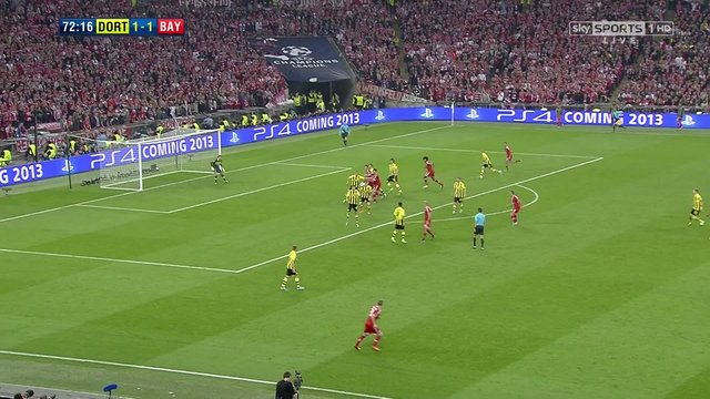 Borussia Dortmund - Bayern Munich 1-2 / Subotic's amazing clearance in the UEFA Champions League final of 2013