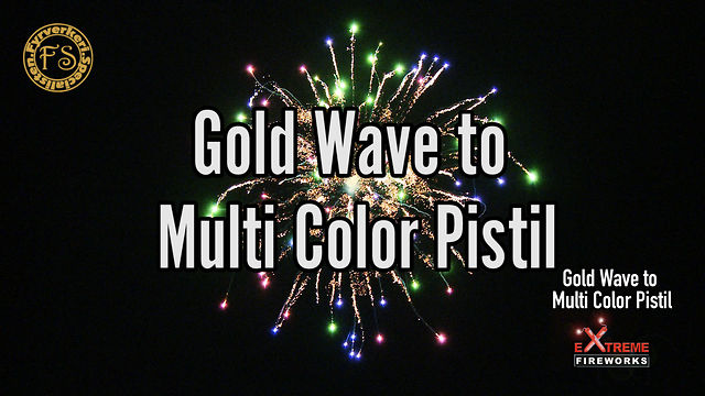 Gold Wave to Multi Color Pistil