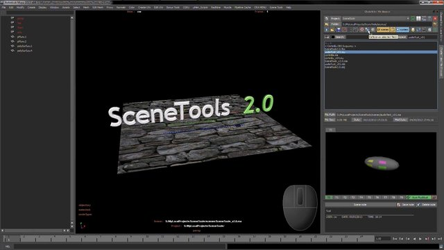 Maya Tool - CharlieWales' File Browser - Part of Scene Tools 2.0