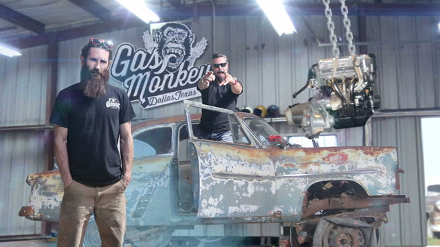 Richard Rawlings y Aaron Kaufman de Fast N' Loud