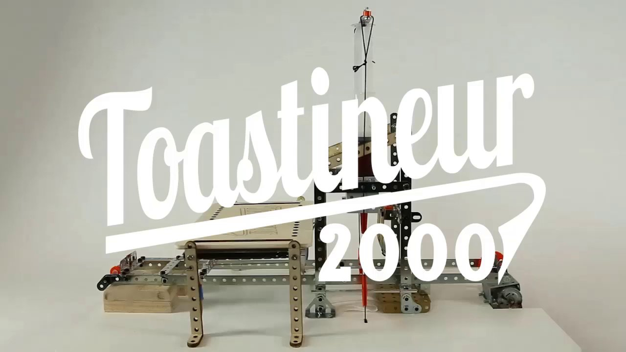 WorkShop Meccano-Arduino : Le Toastineur 2000