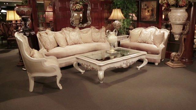 Wood Trim Sofas Furniture