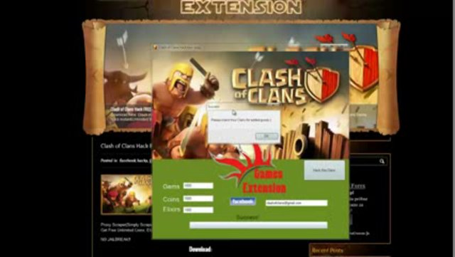 clash of clans hack download no survey
