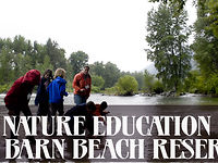 Nature Education at Barn Beach with Mr Pecks 5th Grade Class