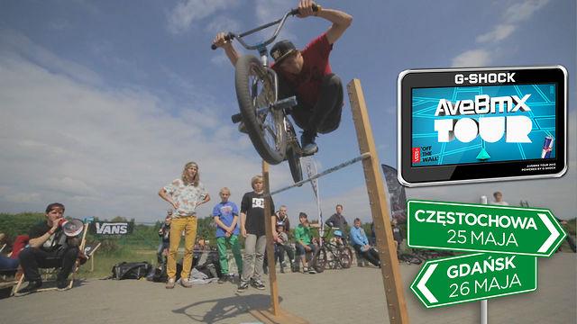 AveBmx Tour 2013: Częstochowa x Gdańsk trip