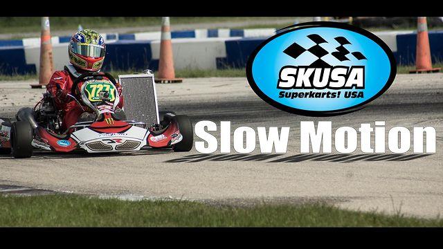 Skusa Texas Prokart Challenge Rounds 3 Amp 4 Super Slow Mo