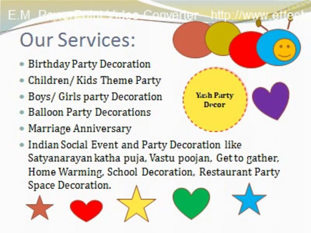Party Decoration Hire Sydney, Kids Birthday, Baby Shower