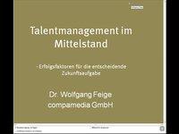 Webinar: Talentmanagement im Mittelstand – Erfolgsfaktoren für die entscheidende Zukunftsaufgabe