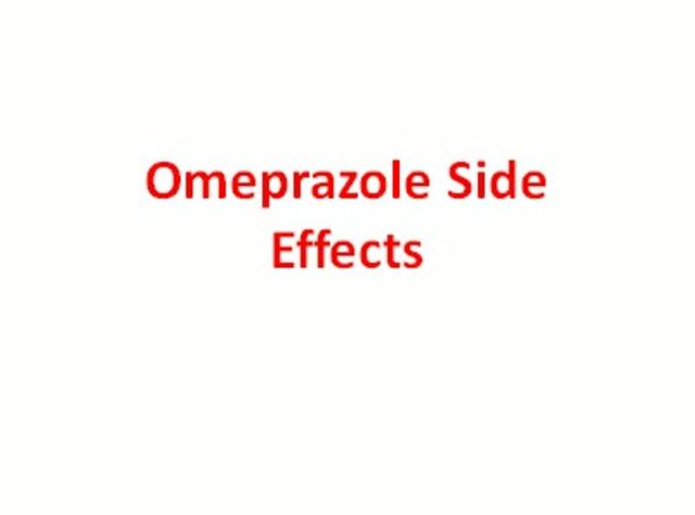 Omeprazole reviews side effects
