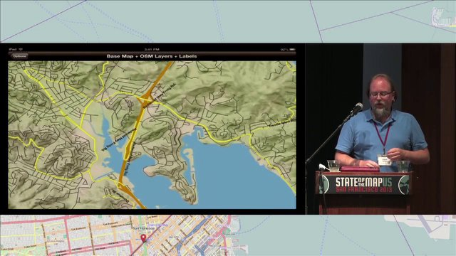 Steve Gifford - Vectors, OpenStreetMap, and Mobile