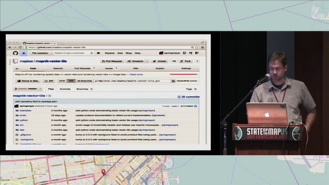 Dane Springmeyer - Vector Tiles for Distributed, High Performance Rendering of OSM