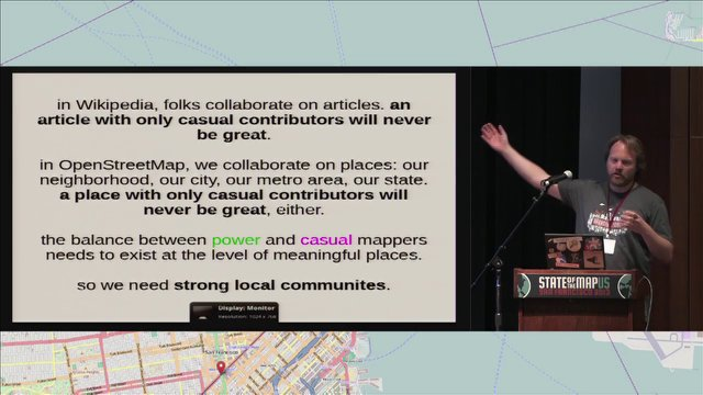 Martijn van Exel - Huddling Around Data: Driving Local Communities on 3.7 Million Square Miles