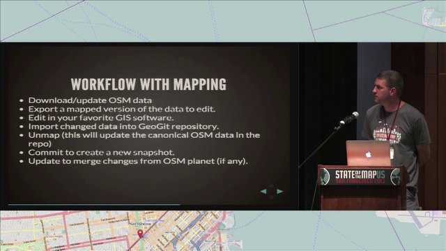 Jeffrey Johnson - Using GeoGit with OpenStreetMap: Distributed Versioned Spatial Data Editing