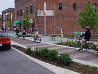 Vimeo - The Indianapolis Cultural Trail: The Next-Gen in U.S. Protected Bike Lanes