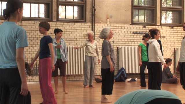 The Dynamics of Perception – Workshop with Bonnie Bainbridge Cohen at HZT Berlin