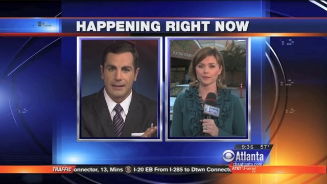 Brandon Rudat - News Anchor/Correspondent CBS Atlanta June 2013