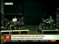 Stephane Chamberland - Short appearance at the news channel in Brazil (Batuka 2013)