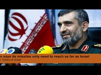 Iran says its missiles only need to reach as far as Israel (Second Coming Watch Update #283)