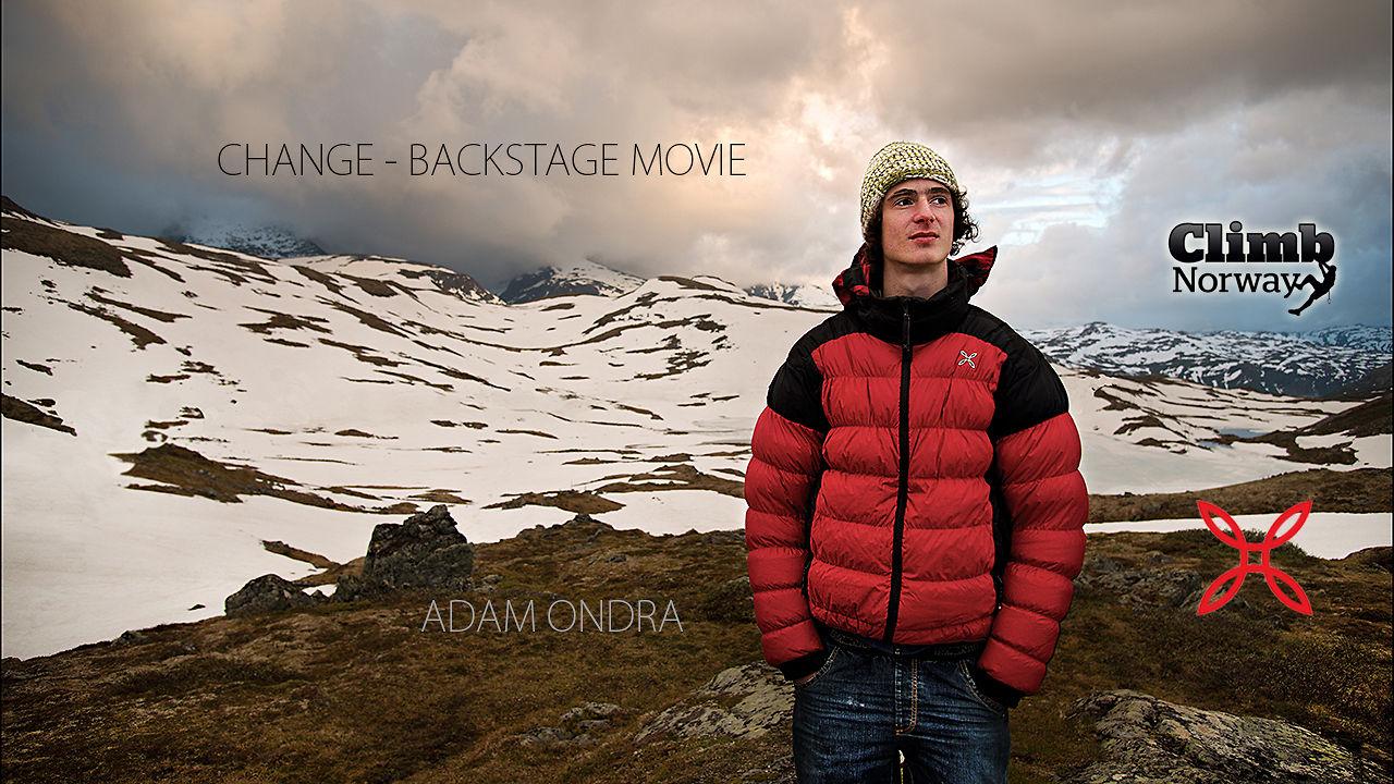 "Adam Ondra ""за кулисами"" фильма Change."