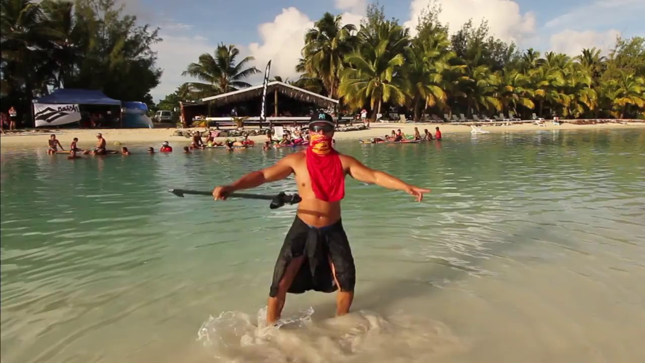 Kiteboard Tour Asia – Harlem Shake Cook Islands