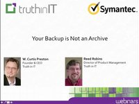 Your Backup is Not an Archive