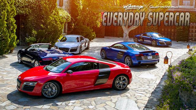 Everyday SuperCar: Audi R8