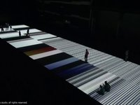 Ryoji Ikeda : : test pattern [nº5], 8 JUN - 1 JUL 2013, Carriageworks, Sydney, AU