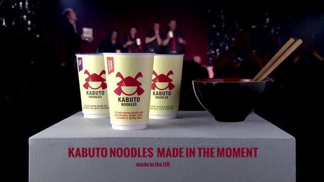 Kabuto Noodles Improvised Ad Break Live